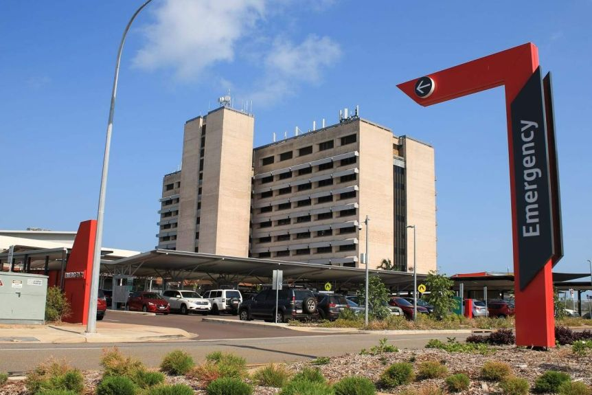 The emergency department of Royal Darwin Hospital.