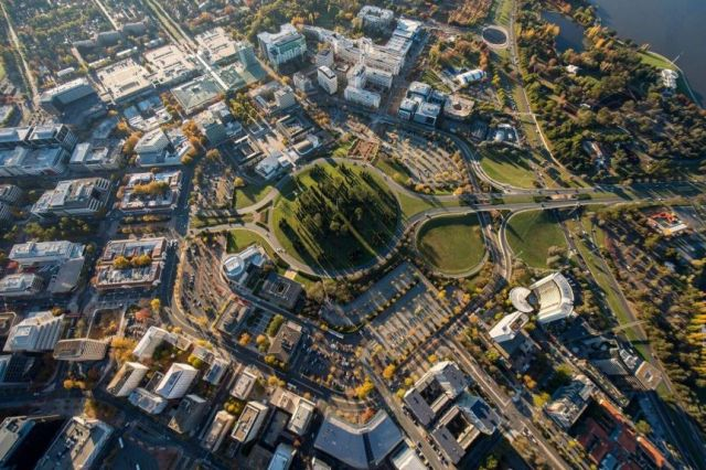 London Circuit viewed from above