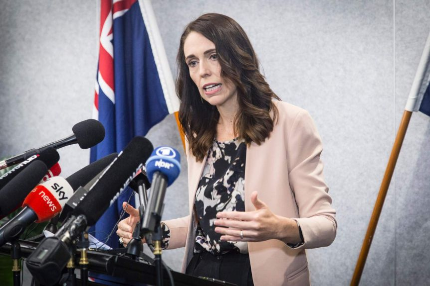 New Zealand Prime Minister Jacinda Ardern won't say how she will vote in the referendum