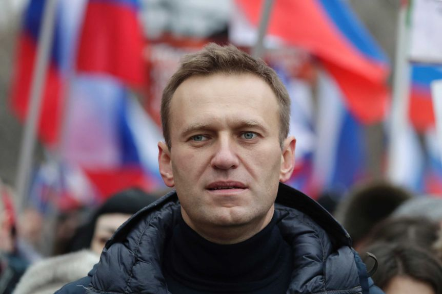 Russian opposition leader Alexei Navalny diagnosed with metabolic disease,  Siberian doctor says - ABC News