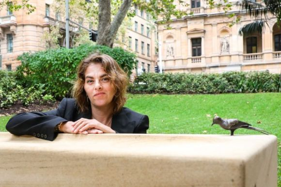 British artist Tracey Emin releases a 'flock of birds' in Sydney as part of  public art work - ABC News