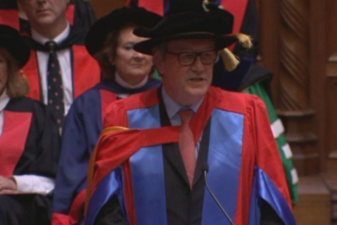 Alexander Downer gets honorary doctorate from University of Adelaide