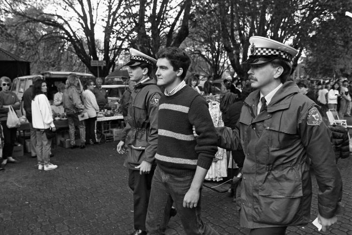 Rodney Croome arrested in 1988