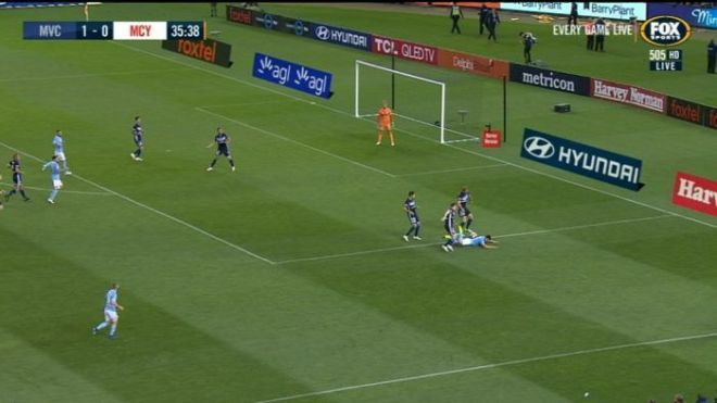 The Melbourne derby was marred by more VAR controversy