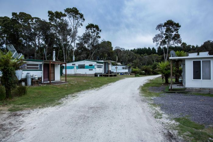 The Macquarie Heads community has about 81 shacks