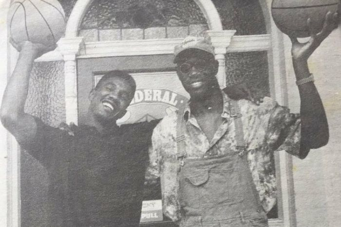 Barry Howard and Lamont Ware