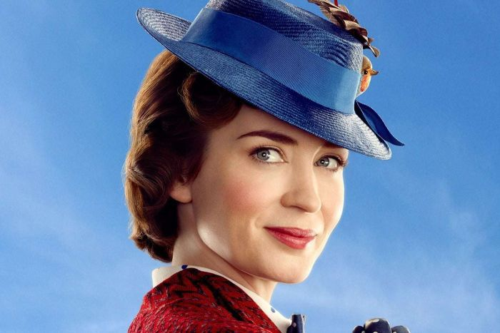 Emily Blunt in the role as Mary Poppins.