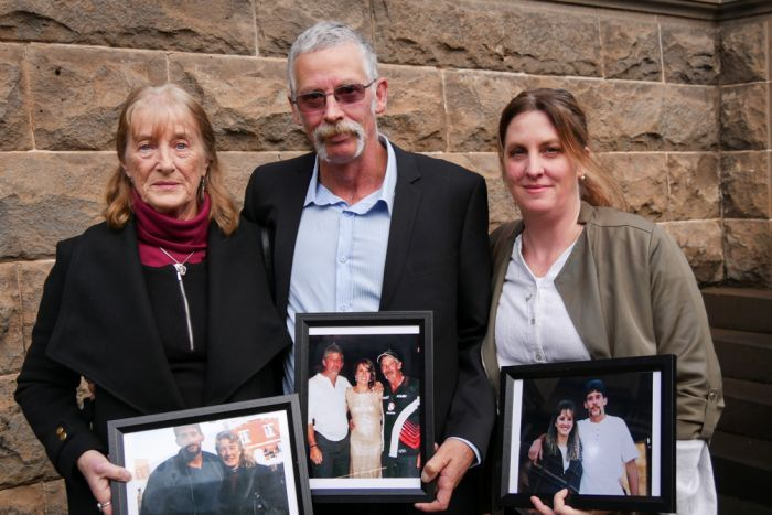 Family of the deceased, mother Valda Webb, father Michael Auditori and sister.