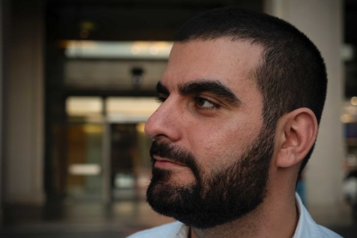 A profile picture of Fadi Chalouhy from the side of his face.