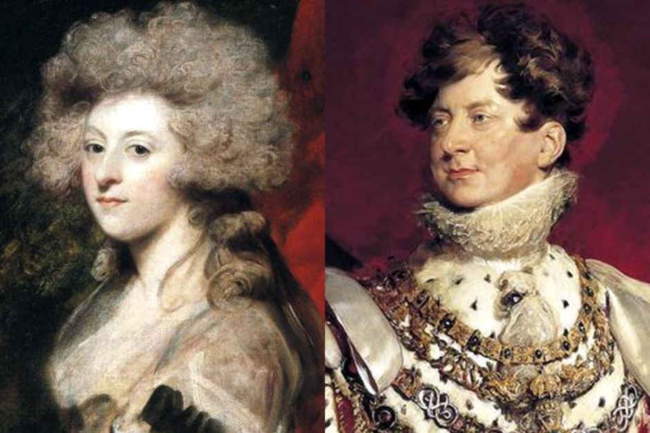 Image result for maria fitzherbert and george iv