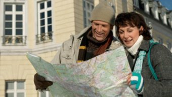 File photo: Couple reading a map (Getty Creative Images)