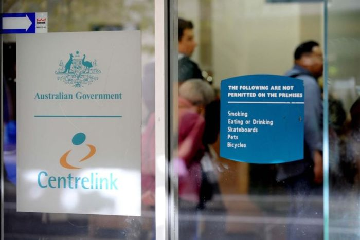 Exterior of a Centrelink office