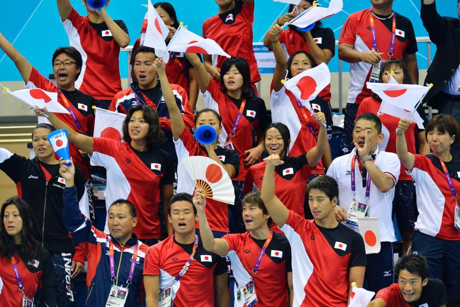 Japanese Olympic Swimmers