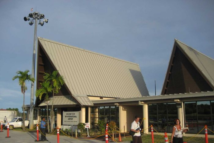 Yap Airport in the Federated States of Micronesia