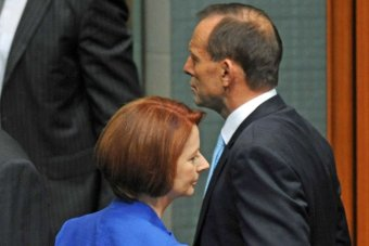 Even compared to Ju-liar, Tony Abbott is suffering a serious trust deficit.