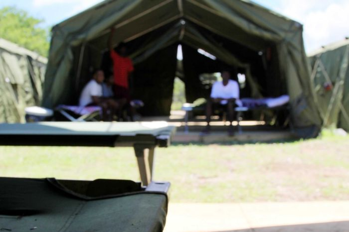 Nauru accomodation for asylum seekers generic