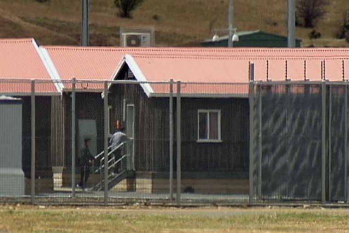 The Pontville Detention Centre outside Hobart has had its first intake of asylum seekers since reopening.