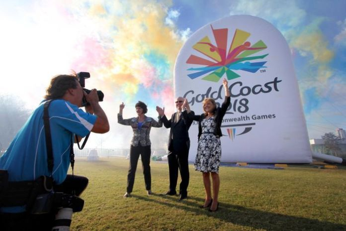 Commonwealth Games logo unveiled at Southport.