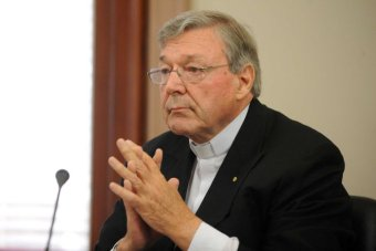 Cardinal George Pell fronts abuse inquiry