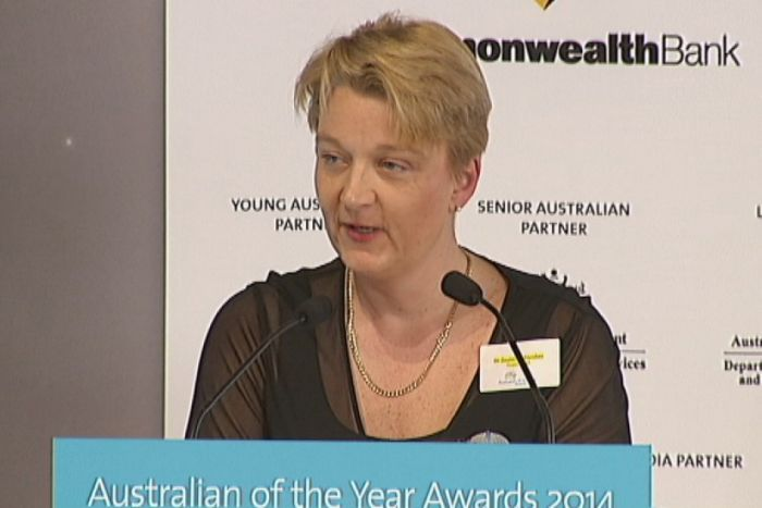 Neonatal specialist Zsuzsoka Kecskes was named as the ACT Australian of the Year in a ceremony at the National Arboretum.