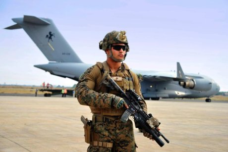 US Marine in Juba
