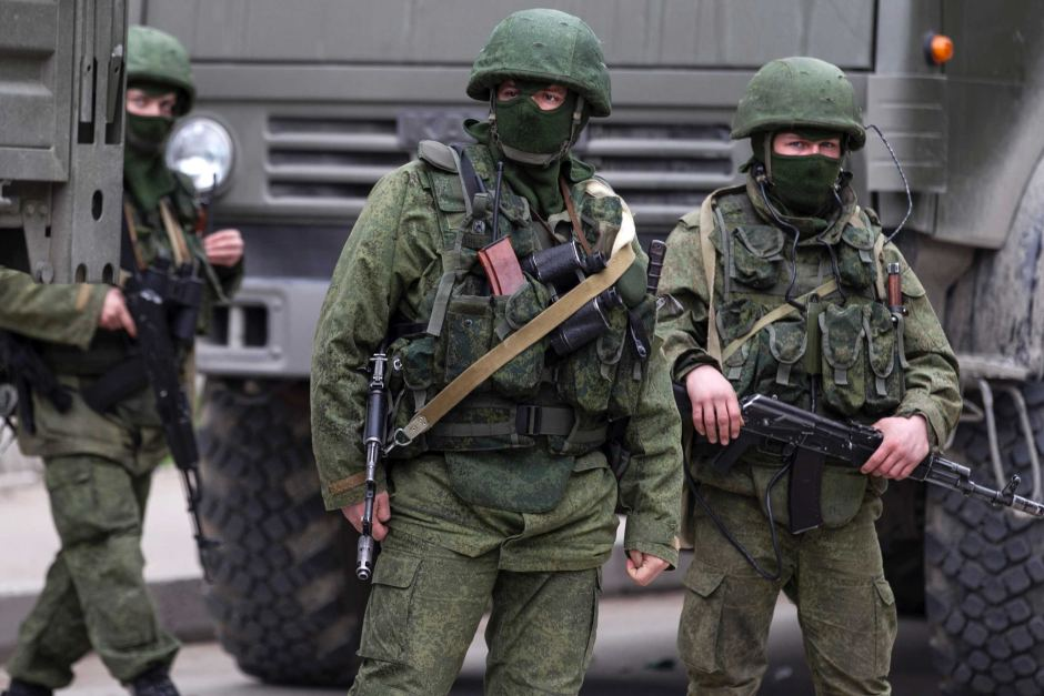 Image result for photo of russian troops in east ukraine
