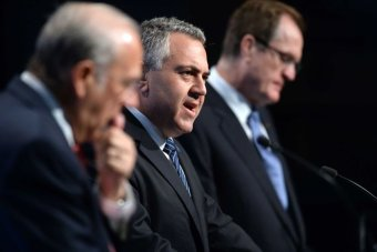 Joe Hockey at the G20 conference in Cairns