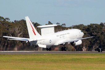 E-7A Wedgetail aircraft