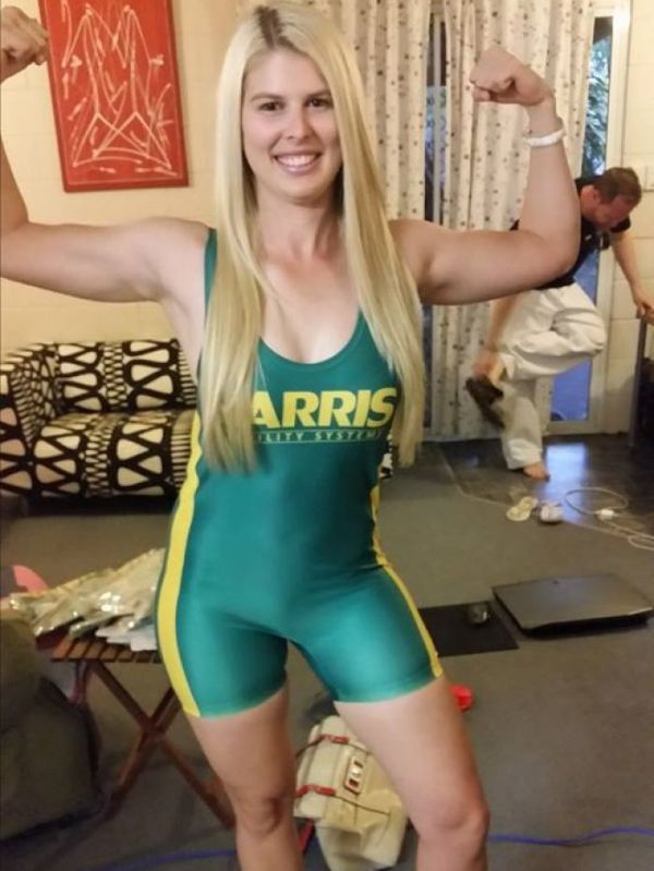 The Australian uniform for the GPA Powerlifting World ...