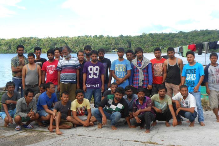 Asylum seekers on Micronesia island of Yap
