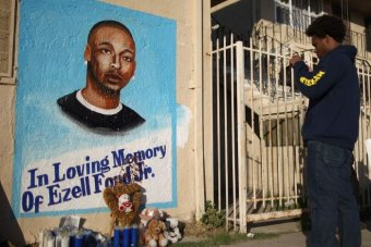 Ezell Ford mural