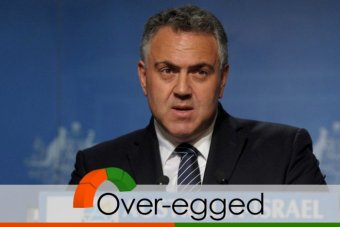 Joe Hockey's borrowing claim over-egged
