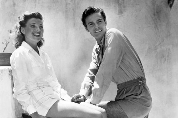 Image result for louis jourdan and wife