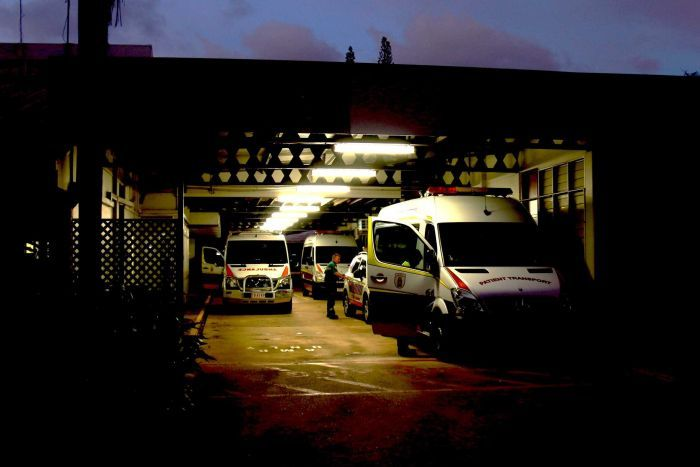 The St John Ambulance NT depot in the Darwin suburb of Casuarina.