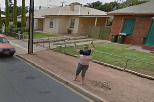 Google Street View flasher from Port Pirie reported for ...