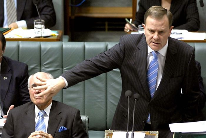 Peter Costello at question time