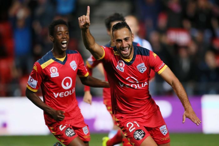 Tarek Elrich re-joined the Wanderers after a five-season stint with Adelaide United.