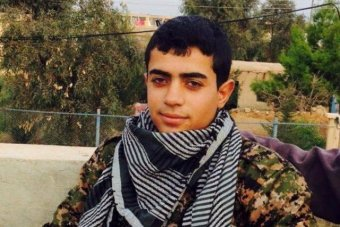 Simon's best friend Abdullah Omar was killed 2 weeks ago fighting with Kurdish Peshmerga and Assyrian forces against ISIS.