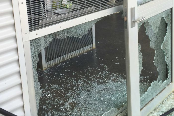 Damage to Christmas Island detention centre