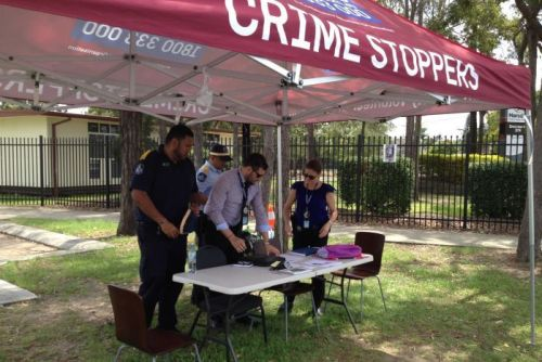 Crime Stoppers marquee