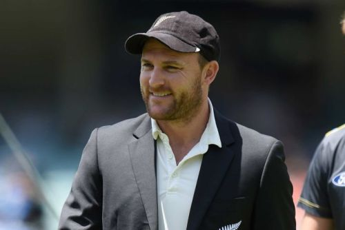 New Zealand captain Brendon McCullum