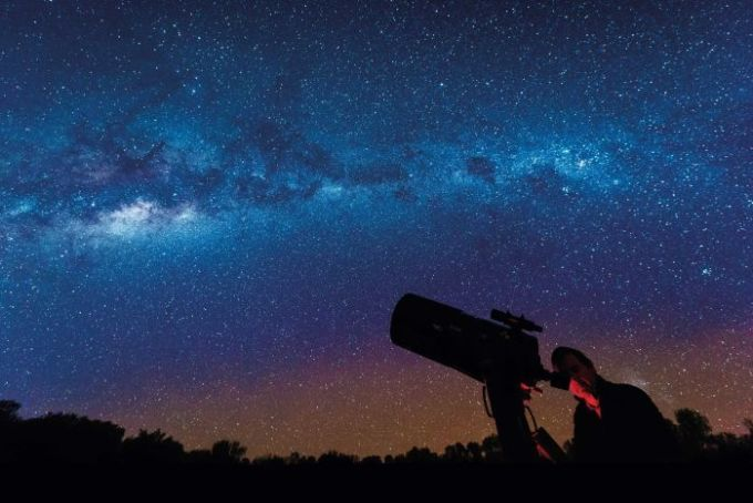 A beautiful shot of the night sky taken from Charleville