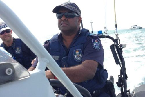 Queensland Police Service Senior Constable Chris Mosby