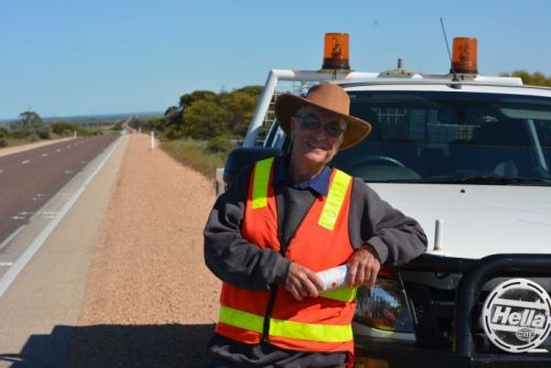 Craig Stinear, or Oolie, has a 620km-long office