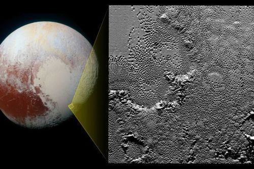 Pluto high resolution images