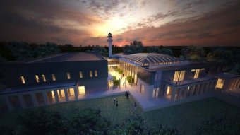 Artist impression of the proposed Bendigo mosque