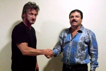 """Actor Sean Penn met Joaquin """"El Chapo"""" Guzman in October, a few months after the drug lord's escape from prison"""