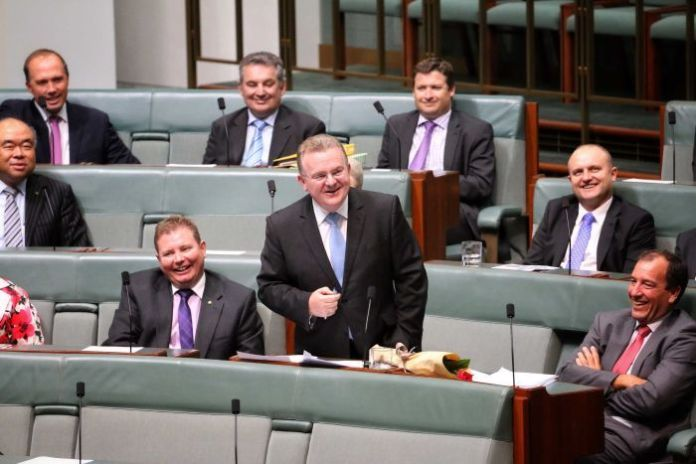 Bruce Billson gives valedictory speech