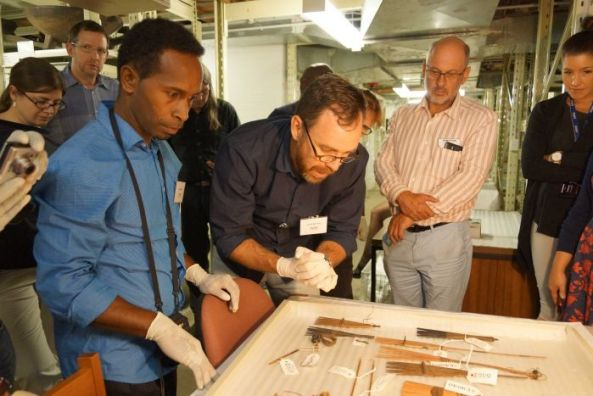 Solomon Islands scientists