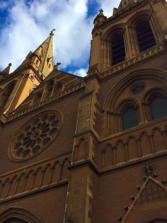St Peter's Cathedral in North Adelaide.